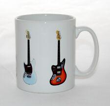 Kurt Cobain Guitar Mug. 5 Famous Guitars. Fender & Mosrite
