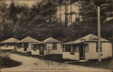 Thornton NH Wiley's DeLuxe Cabins Postcard
