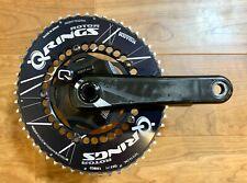 Quarq Elsa R SRAM Power Meter BB30/PF30 130BCD 165mm w 53/39 Rotor Oval Qrings