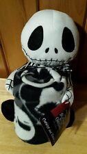 Disney the Nightmare Before Christmas Throw Blanket Jack Cuddle Pillow Hugger