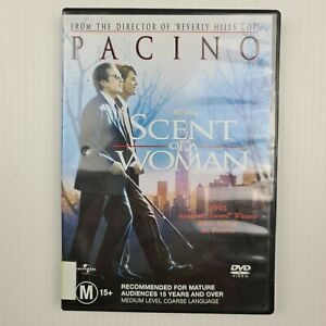 Scent Of A Woman DVD - Region 2,4 PAL - FREE TRACKED POSTAGE