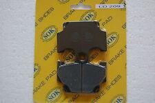 FRONT BRAKE PADS fits YAMAHA XV 400 500 Virago, 83-84 XV400 XV500
