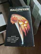 Halloween VHS Michael Meyers Horror 1997