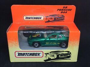Matchbox #59 Porsche 944 - Unopened (1993)