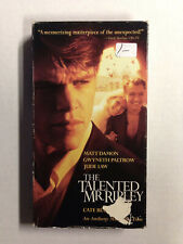 The Talented Mr. Ripley [Vhs] 2000