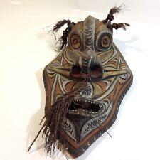 Vintage Sepik River PNG Carved Mask Papua New Guinea