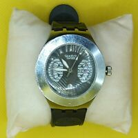 SWATCH SWISS WRISTWATCH USSR SOLID STAINLESS STEEL VINTAGE USED CHRONO MEN
