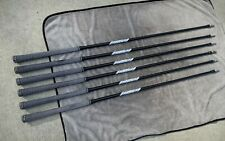 True Temper AMT R300 steel iron shafts set 5-PW in black finish .355t