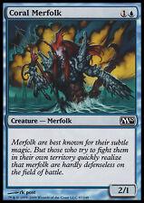 MTG 4x CORAL MERFOLK - TRITONE CORALLINO - M10 - MAGIC