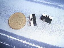 2 Subminiature Button Microswitch 1A 125VAC 0.5A 30VDC (131)