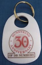 Royal Doulton Bunnykins 30th anniversario della DB numeri Fine Porcellana Cinese Portachiavi