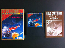BOMBER RAID shmup Sega Mark III System Very Good Condition