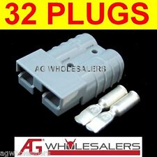 32 x ANDERSON STYLE 50 AMP PLUG CONNECTOR JOINER - DUAL BATTERY SOLAR CABLE 50a