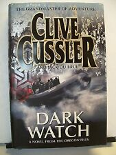 Book, Dark Watch by Clive Cussler and Jack Du Brul, 1st edition, 2007, HBDJ