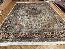 Orientteppich Teppich Perserteppich  Seidenteppich 370x270 Luxus Pur