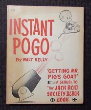1962 INSTANT POGO by Walt Kelly 1st Ed. Simon & Schuster Paperback FVF