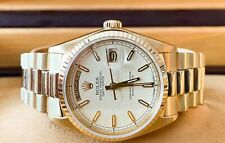 Rolex Day-Date President 18k Yellow Gold Jubilee Dial 36mm Watch 18038