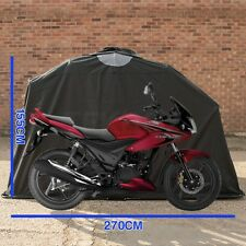 Motorbike Storage Shelter Tent in Black