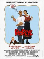 Popeye Movie Poster 24x36in Robin Williams