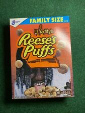 Lil Yachty X Reeses Puffs Cereal General Mills Sealed Box New Family Size