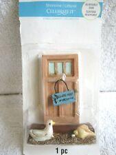 Celebrate It Tiny Treasures Shoreline Seagull & Seashell Doorway Miniature - Nip