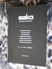 Sako 85 A7 Quad Finnfire Ii Operators Manual - Genuine Oem - New