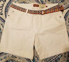 Arizona girls shorts with removable belt