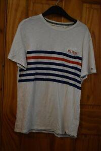 Men's Tommy Hilfiger Medium T-shirt white striped