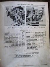 John Deere Wisconsin VH4D Engine Parts catalog manual ORIGINAL