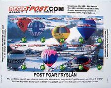 Stadspost Kollum 2010 - Velletje Winterzegels, Luchtballonnen, balloon ongetand