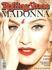 NEW Rolling Stone Magazine Madonna 3/12/15 2015 No Label USA Newsstand Edition