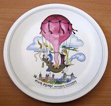 "Villeroy & Boch Le Balloon 8"" Salad Plate Pink Pearl Survolant Londres"