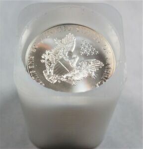 2009 Silver Eagles 20 coins all brilliant uncirculated