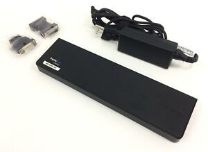 Targus Universal USB 3.0 Docking Station ACP70USZ with AC Adapter & DVI to VGA