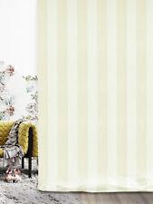 Tenda Isotta in seta e cotone colore bianco e beige (col.2)