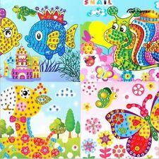5 X DIY 5D Diamond Embroidery Children Diamond Painting Creative Puzzle Cartoon