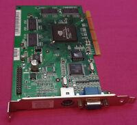 32MB AGP Dell 7D208 07D208 nVidia GeForce2 2MX VGA Graphics Video Card P55