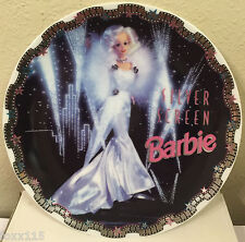 Silver Screen Barbie Limited Edition Collector's Plate w/COA FAO Schwarz /3600