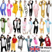 Unisex Adult Animal Onsie Kigurumi Pyjamas Fancy Dress Onesie1 Sleepwear UK