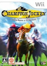 Used Wii Champion Jockey: G1 Jockey Nintendo JAPAN JP JAPANESE JAPONAIS IMPORT