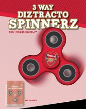 ARSENAL FC  SOCCER OFFICIALLY LICENSED FIDGET SPINNER! *SAFETY CERTIFIED TESTED*