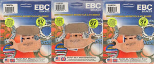 EBC severe duty front & rear brake pads kit up to 2012 Can-Am Outlander