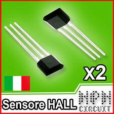 2x Sensore effetto HALL Magnetico A3144 Arduino compatibile
