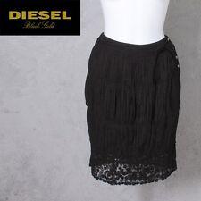 $240 new DIESEL OHAMIS SKIRT black sz 30 (Medium) dsl Gold Label Collection