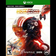 STAR WARS SQUADRONS (Microsoft XBOX ONE, Series X/S) NEW UNOPENED FAST SHIPPING