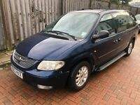 Chrysler grand voyager 2.5 crd lx Turbo Diesel 7 seats Spares or Repair.