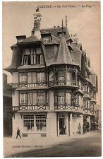 """CPA 76 - ETRETAT (Seine Maritime) - Les Golf Hôtels : """"la Plage"""""""