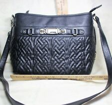 ROSETTI  Quilted Faux Leather Shoulder Bag, Nice!
