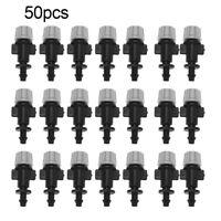 50pcs/set Misting Nozzles Sprinkler Head Atomizer for Drip Irrigation System