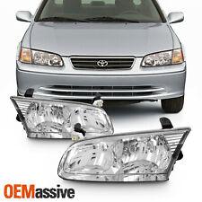 Oe Style For 2000 2001 Toyota Camry Chrome Bezel Inner Side Headlight Lamp L